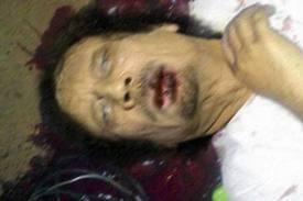 Gheddafi morto