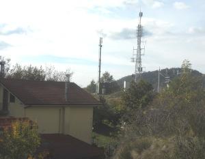 Antenne radiotelevisive a Buffalora