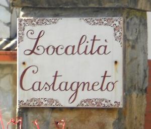 Castagneto cartello