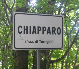 Chiapparo cartello