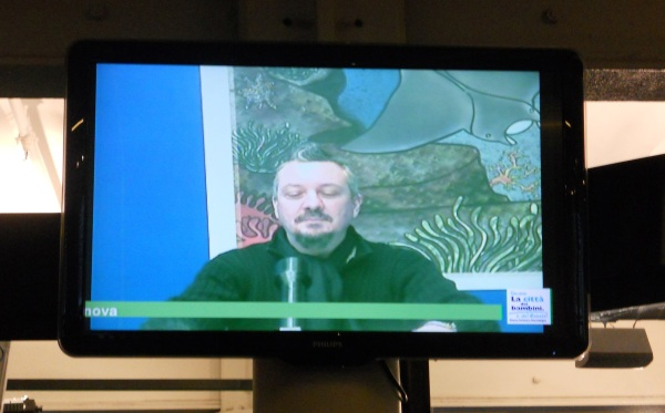 Lukha Kremo Baroncinij al TG nazionale di Torriglia