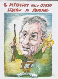 Bossi dittatore dello Stato Libero di Padanas