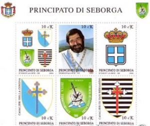 Francobolli del Principato di Seborga (1994)