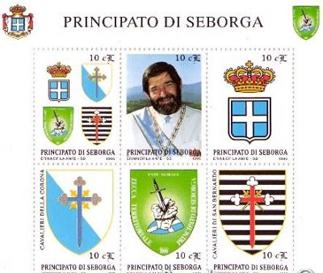 Francobolli del Principato di Seborga