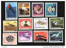 Francobolli moderni delle Isole Cocos e Keeling