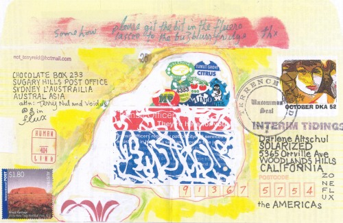 Interim Tidings Postcard