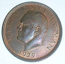 Moneta da 1 Puffy del Regno di Lundy (1929)