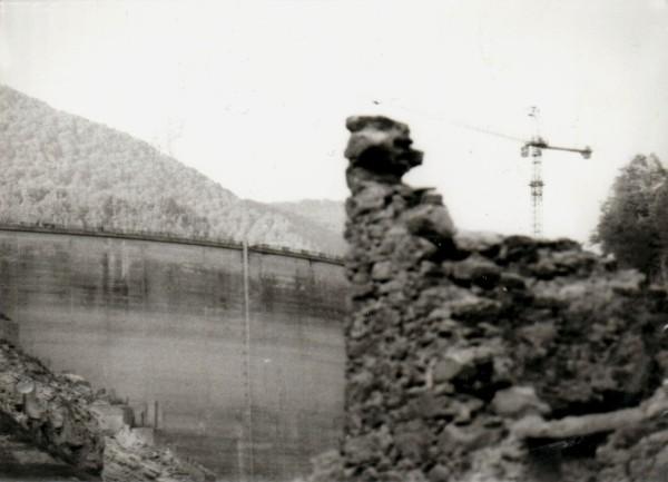 Fabbriche di Careggine e diga di Vagli (agosto 1994)