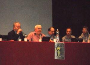 Zanfretta al I meeting di ufologia di Torriglia