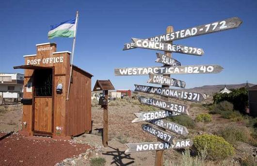 L'ufficio postale del Principato di Hutt River