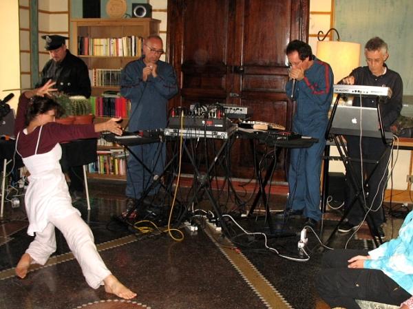 Marcella Fanzaga, Krell, ODRZ e Dante Tanzi