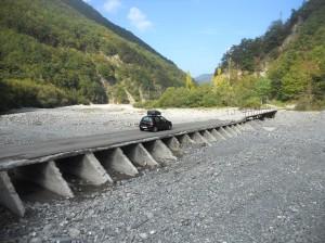 Ponte per Vegni (ultimo paese abitato prima di Reneuzzi)