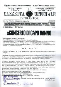 Gazzetta Ufficiale di Trantor n. 9
