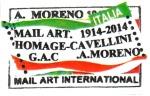 Francobollo da 0,60 € di Antonio Moreno Garrida (2013)