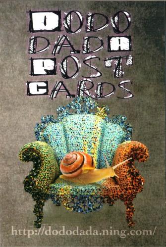 DodoDada postcard di Claudio Romeo