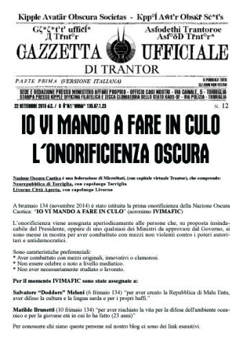 La Gazzetta di Trantor n.12