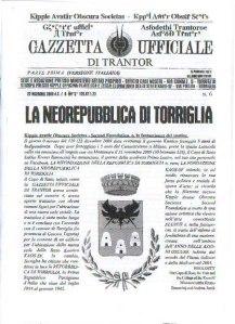 Gazzetta Ufficiale di Trantor n.6