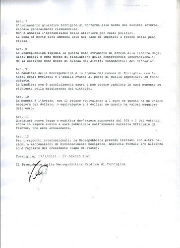 Costituzione pagina 2