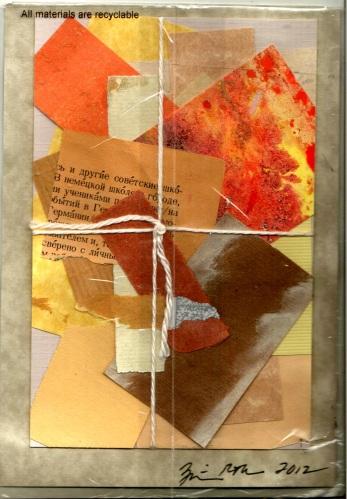 Salone de Refuse Postcard di Rita Mc Namara