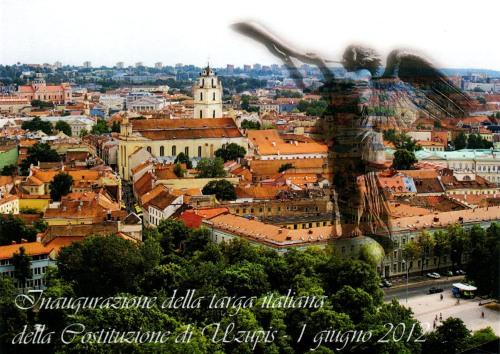 Cartolina della Repubblica di Užupis