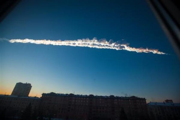 Il bolide caduto oggi in Russia