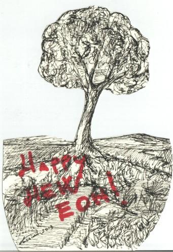 Happy New Eon Tree di Stefano sini Fossiànt
