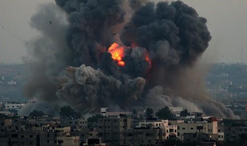 Bombardamenti israeliani su Gaza, 9-7-2014