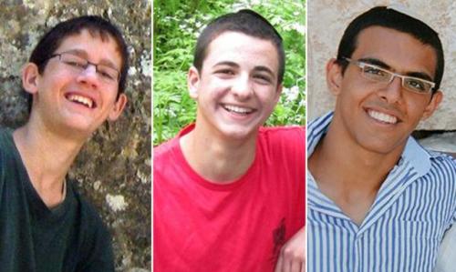 Eyal Yifrah, Gilad Shaar e Naftali Fraenkel