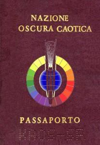 Passaporto Nazione Caotica Oscura