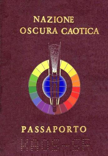Passaporto Nazione Oscura Caotica