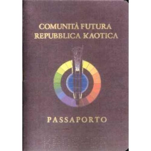 Passaporto della Repubblica Kaotica (Kaos-SF) (2004)