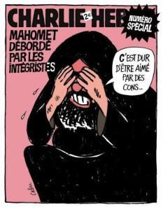 copertina di Charlie Hebdo