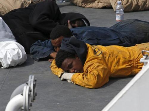 Migranti superstiti a Malta