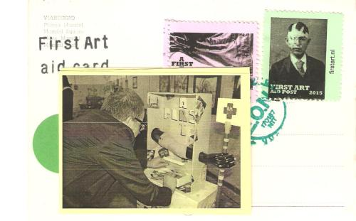 First Aid Post Card, Vittore Baroni