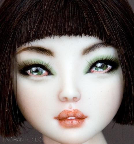 Emerald, bambola di Marina Bychkova
