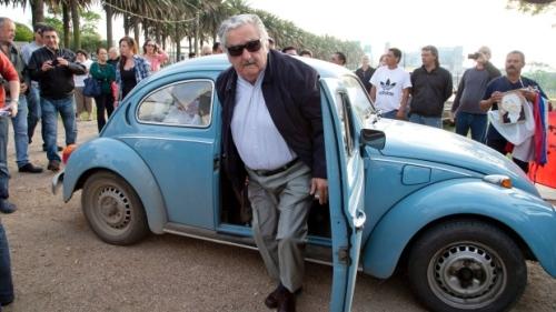 L'ex Presidente della repubblica dell'Uruguay, José Mujica