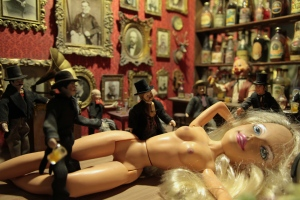Bar Barbie, diorama di Mark Ryden
