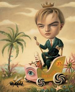 Leonardo DiCaprio di Mark Ryden