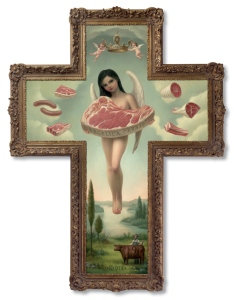 Angel of Meat di Mark Ryden