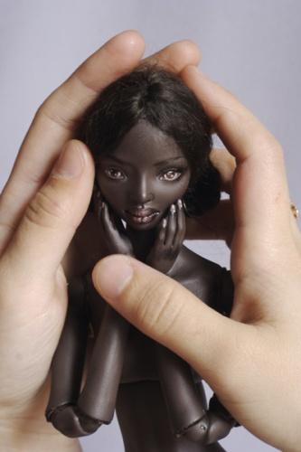 Mihret, bambola di Marina Bychkova