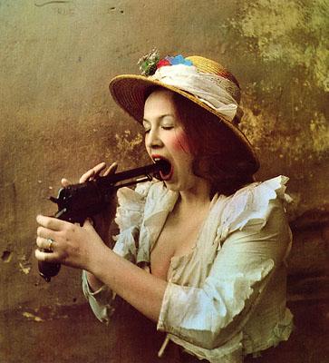 Portrait of a Woman di Jan Saudek
