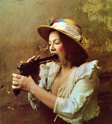 Portrait of a Woman di Jan Saudek