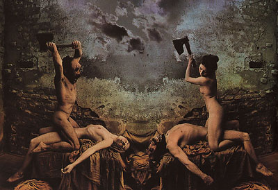 The Holy Matrimony di Jan Saudek