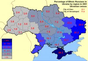 Distribuzione etnica Ucraina