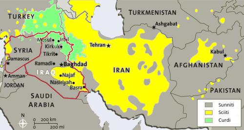Mappa etnico-religiosa Iran