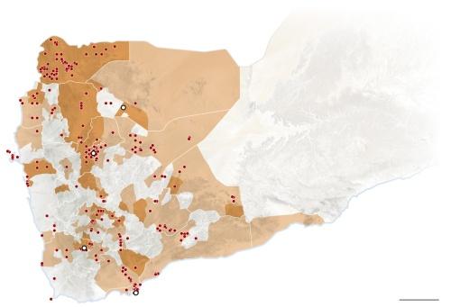 Mappa politico-religiosa Yemen