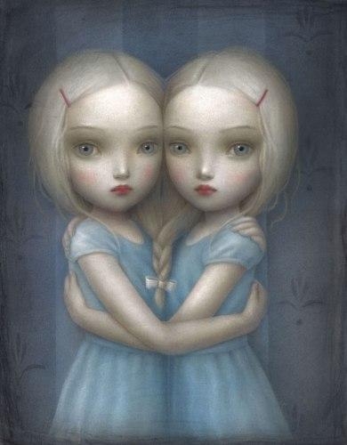 Anime gemelle di Nicoletta Ceccoli