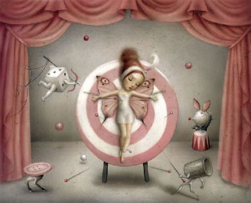 Strange and Beautiful Creature di Nicoletta Ceccoli