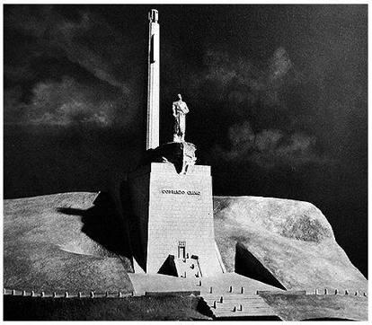 Mausoleo di Costanzo Ciano (ricostruzione)
