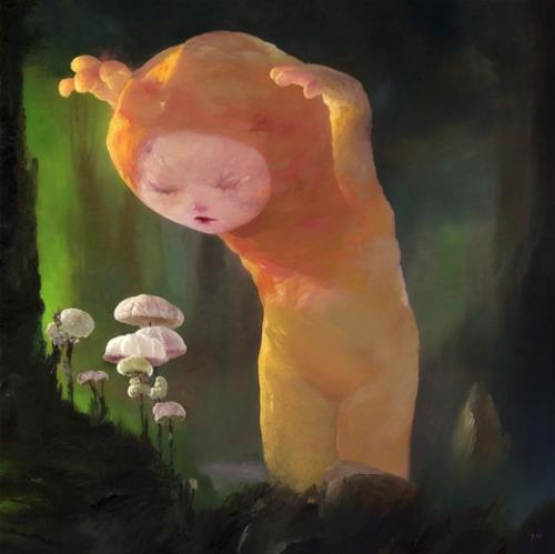 The Mushrooms Hunter by Joe Sorren